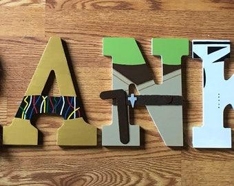 Star Wars Wooden Letters