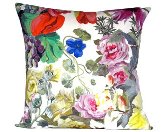 Designers Guild Orangerie Rose pillow cover - 1 SIDED OR 2 SIDED - Choose Your Size