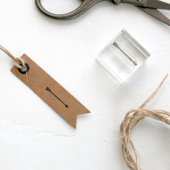 Tiny Arrow Clear Rubber Stamp - Tiny Arrow Rubber Stamp - Tiny Arrow stamp - Tiny Arrow - Rubber Stamp - Little Stamp Store