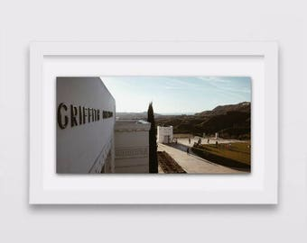 Griffith Park Hollywood Sign | Hollywood Posters | Gift Under 30 | Los Angeles Photography