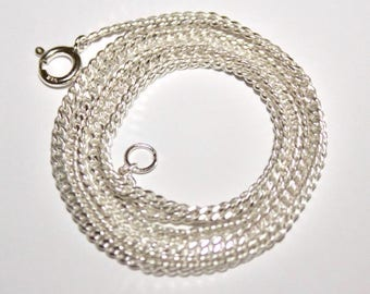Singapore Chain 925 Sterling Silver - 2mm - 50cm - 19-inch - SNKSING050