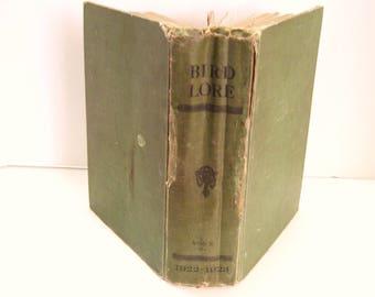 Bird Lore 1922 - 1923 Audubon Ex-Library Hardcover