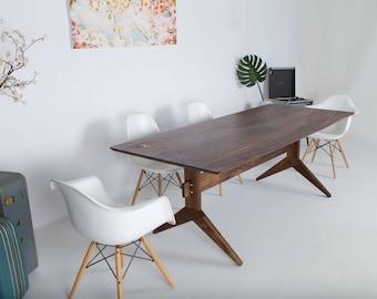 walnut dining table modern dining table dining table modern modern walnut dining table