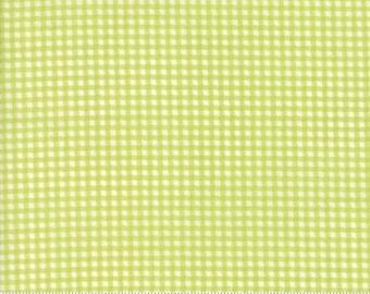 Essential Check Light Green for Moda, 1/2 yard, 8653 53