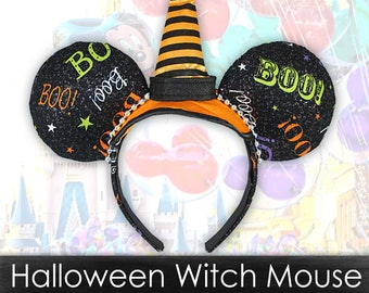Halloween Witch Mouse Ears