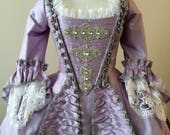 Custom Rococo Rhinestone Gown