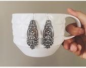 Handle It Drops — spoon handles, vintage style, spoon ring companion, silver simple boho antique romantic floral nashville rochester elegant
