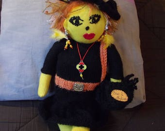 fashionista 50cm cloth and knit witch doll