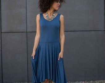 SWING Dress Dusk Blue