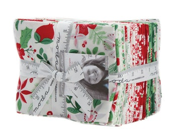 SHIPS Today! MERRY MERRY By Kate Spain For Moda Fabric Fat Quarter Bundle (27fqs) new for 2017