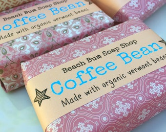 coffee soap, coffee scented soap, kitchen coffee soap, soap in handmade, coffee bean soap, soap,