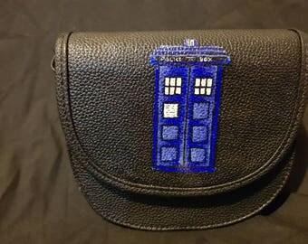 TARDIS/Bad Wolf hand bag