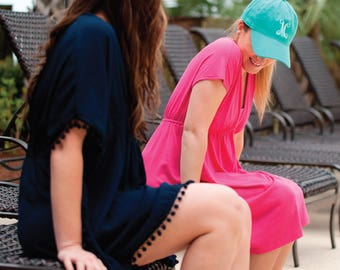 Monogrammed Ball Cap by Initially Yours and More (All colors in stock now)