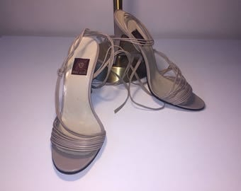 Vintage Anne Klein Strappy Heels
