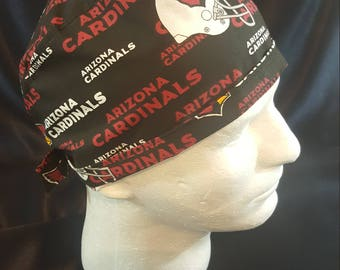 Arizona Cardinals Tie Back Surgical Scrub Hat