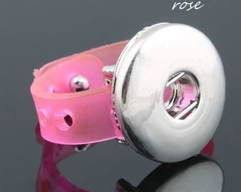 Pink silicone snap ring