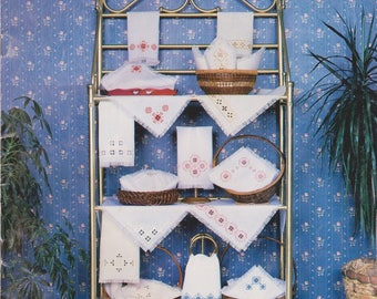 Counted Thread Embroidery book Hardanger Embroidery for the Table I complete instructions by Susan L Meier Rosalyn Watnemo