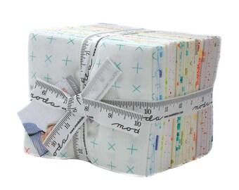 Modern Background Colorbox - Zen Chic - Brigitte Heitland - Moda - 33 Pieces - Fat Quarter Bundle - 1640AB