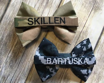 Name Tape Bow