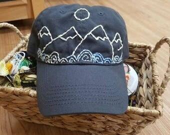 Snowy Mountain Hat