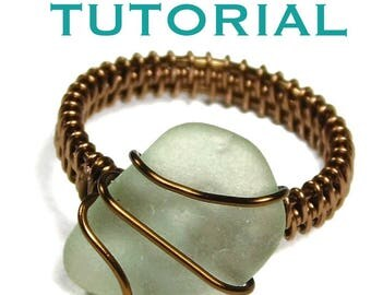 Wire Wrap Tutorial Ring | How to Wire Wrap Ring | Ring Tutorial Wire Wrapped | Wire Woven Ring Lesson | Jewelry Tutorial