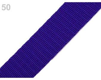 50 - Strap 30 mm blue purple polypropylene