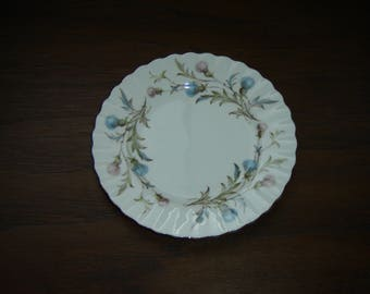 Royal Albert Brigadoon (1980) bread and butter plate mint condition
