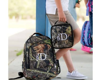 Custom Boy Canvas Backpack - Camouflage backpack  Monogrammed backpack - Personalized Backpack - Embroidered Backpack