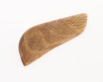 Organic brooch, statement brooch, oak brooch