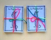 Cat Art Zine, Le Psycho Cat, 5 issue bundle