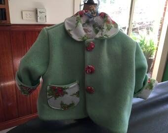 Vintage blanket jackets