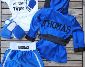 Baby Boxing Robe/ Kids Boxing Robe personalized
