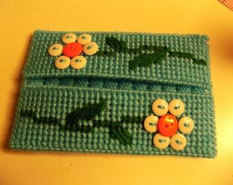 Buttons Pocket Tissue Holder