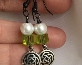 Celtic knot dangles - proceeds benefit Avela!