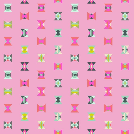 "FQ ARROW HEADS Star Light Spirit Animal  Tula Pink Fat Quarter 18""x22"""
