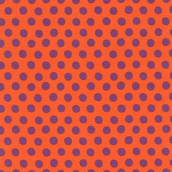 SPOT Orange PWGP70ORANG Kaffe Fassett Sold in 1/2 yd increments