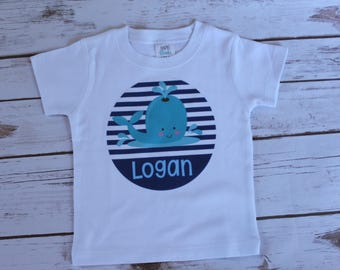 Whale Summer Shirt; Printable Vinyl Whale Shirt; Toddler Summer Shirt; Girl Summer Shirt; Boy Summer Shirt; Baby Summer Shirt