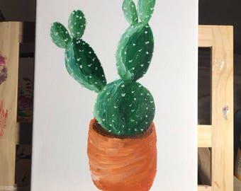 Cactus original painting