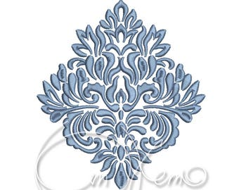 MACHINE EMBROIDERY DESIGN - Damask_element