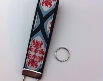 Custom key fob wristlet in Dreamy Diamonds