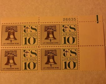 1959 U.S. 10 cent Air Mail stamp