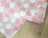 Blush Pink and Cream Brushed Dots -- Riley Blake Designs by Jen Allyson for My Mind's Eye Quilting Fabric