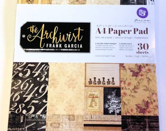 "Prima ""The Archivist "" A4 Paper Pad Collection Kit"