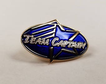 Team Captain Achievement Lapel Pin