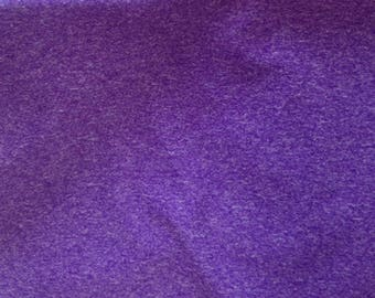 Heathered Purple ATY Nylon Stretch fabric sold by the Yard