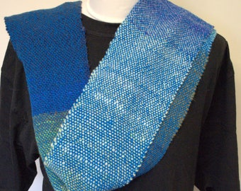 Handwoven extra long scarf