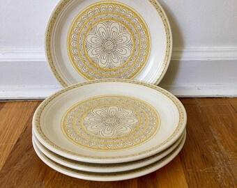Franciscan Hacienda Gold Salad Plate Set