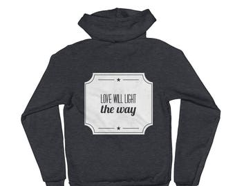 Love will Light the Way/P+L+J Hoodie