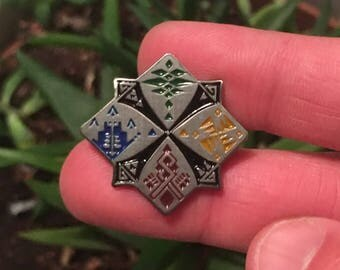 Hunters Guild Crest Enamel Pin- Monster Hunter