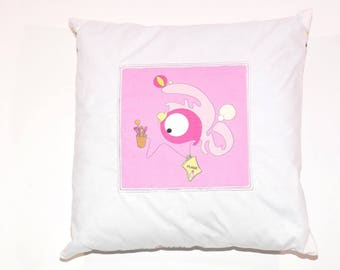 Removable Papillule holiday pillow